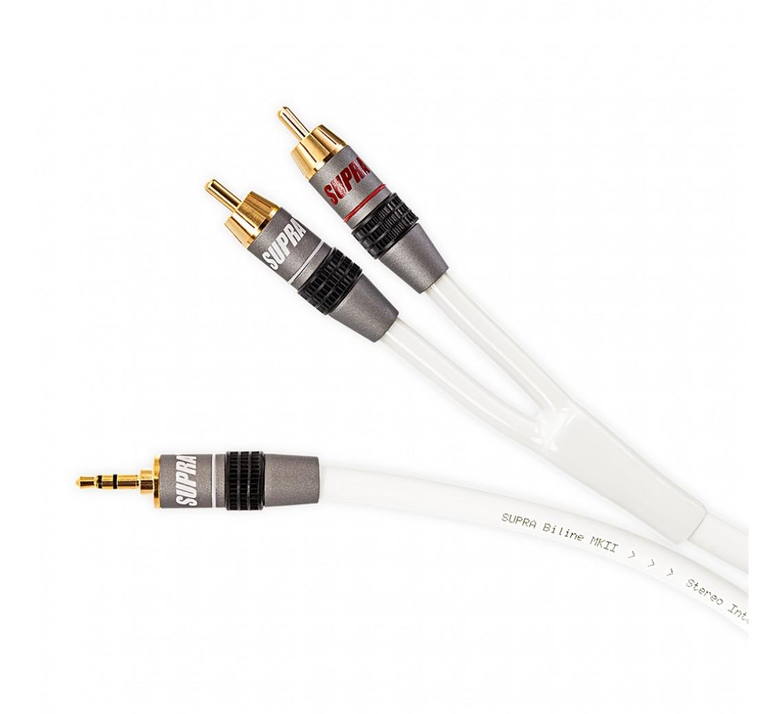 Supra Biline 3.5MM Stereo-RCA
