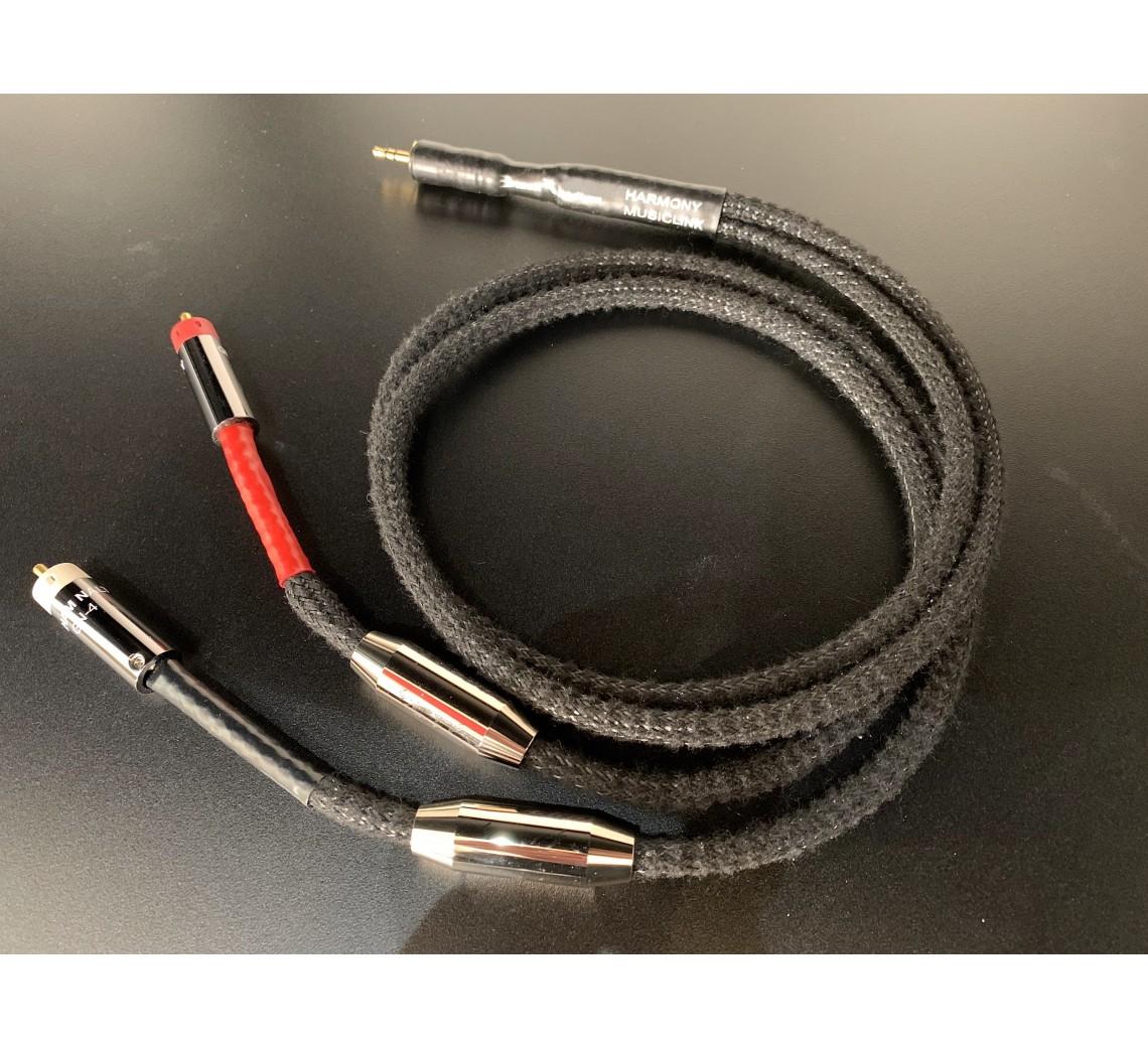 Black Rhodium Harmony Musiclink (3,5mm - RCA)