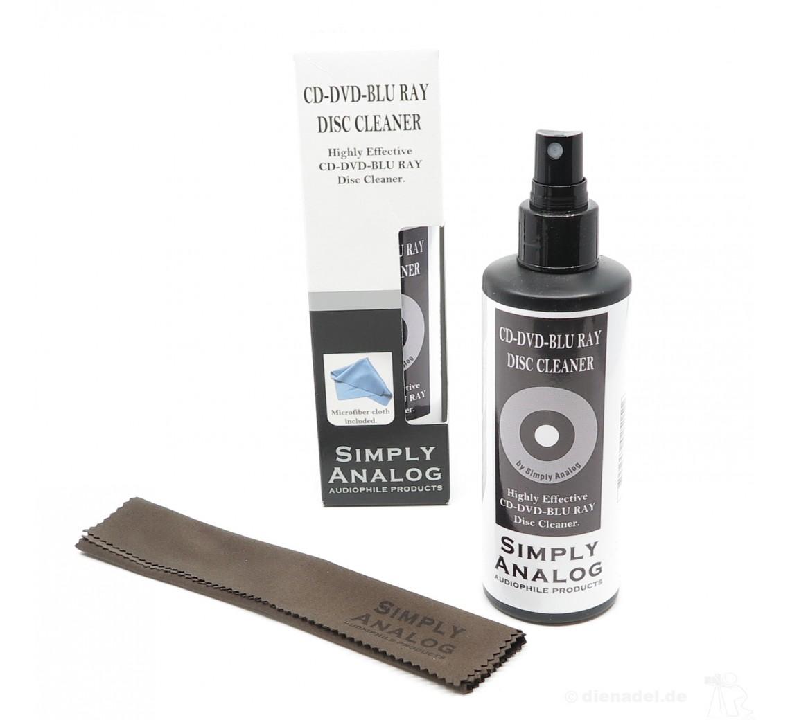 Simply Analog CD/DVD/BluRay Cleaner