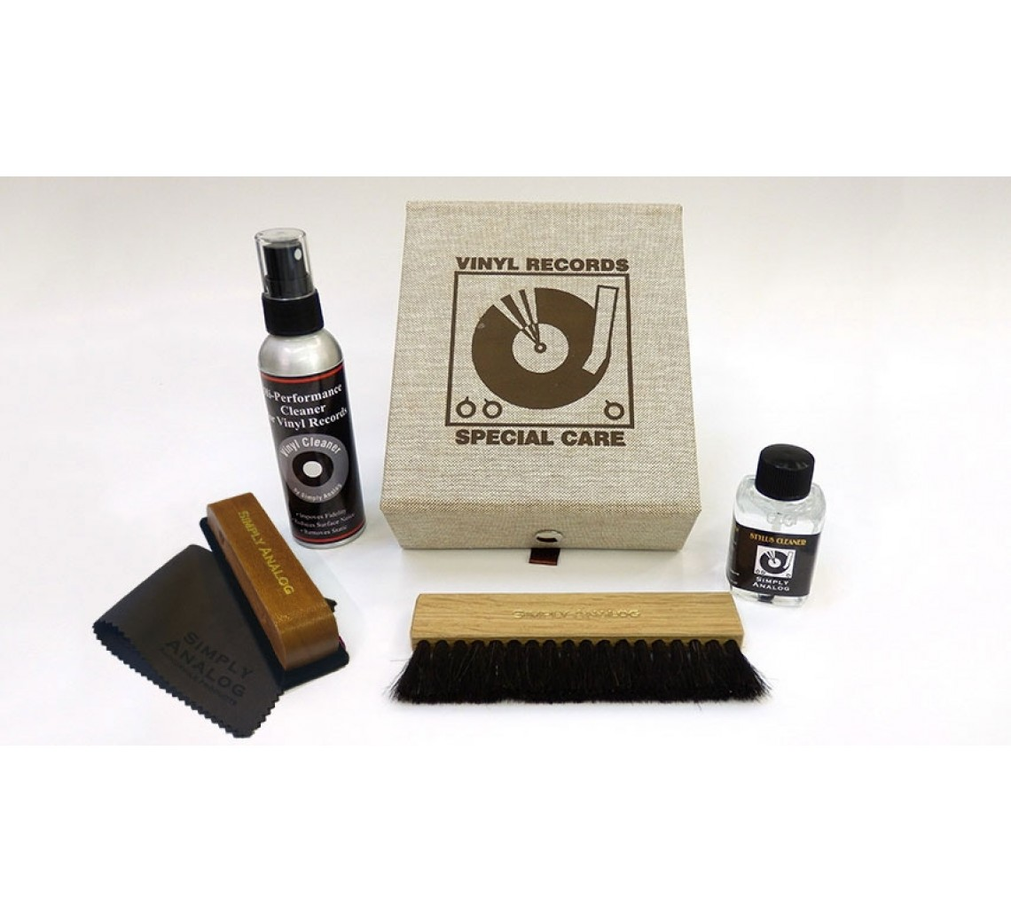 Simply Analog Vinyl Cleaning Box - Deluxe Edition