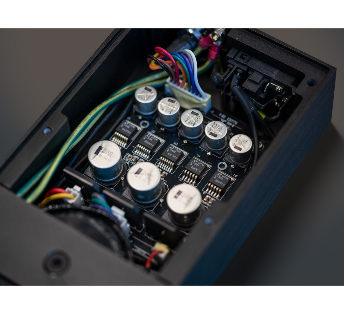 Lumin Upgrade PSU Black Inside