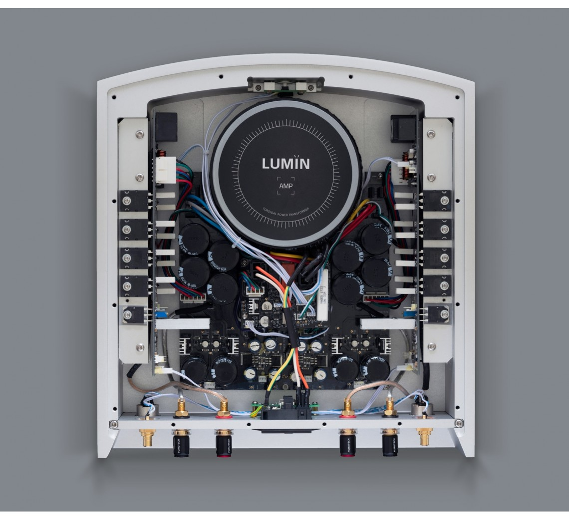 Lumin Amp Silver Inside