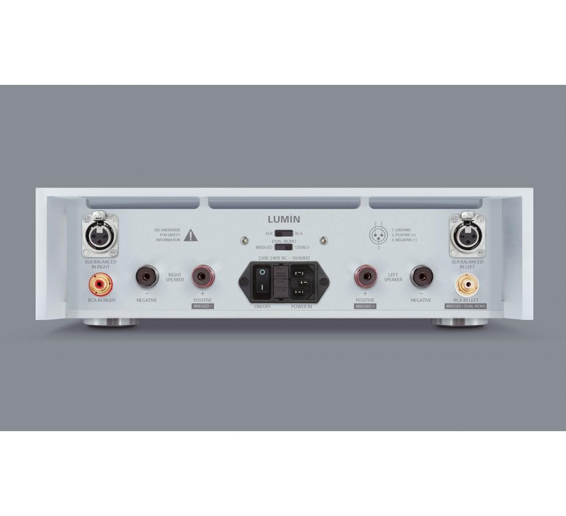 Lumin Amp Silver Rear