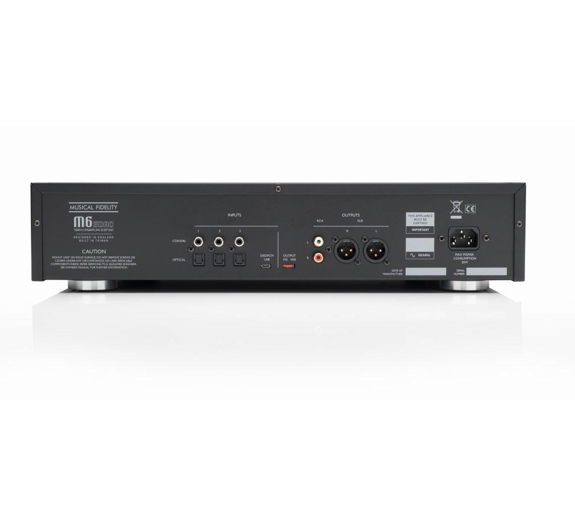 Musical Fidelity M6S DAC-01