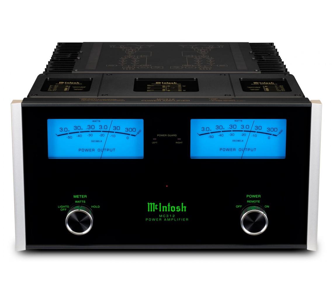 McIntosh MC312 effektforstærker