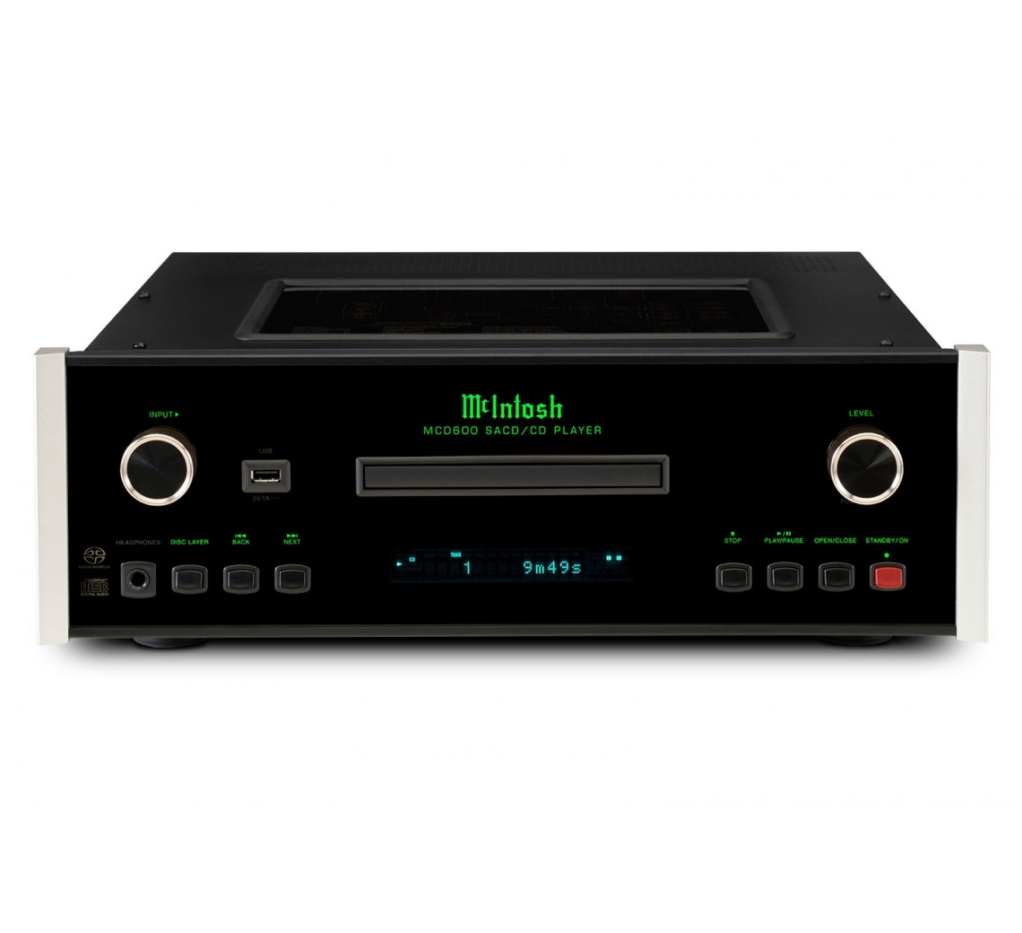 McIntosh MCD600 SACD/CD-afspiller