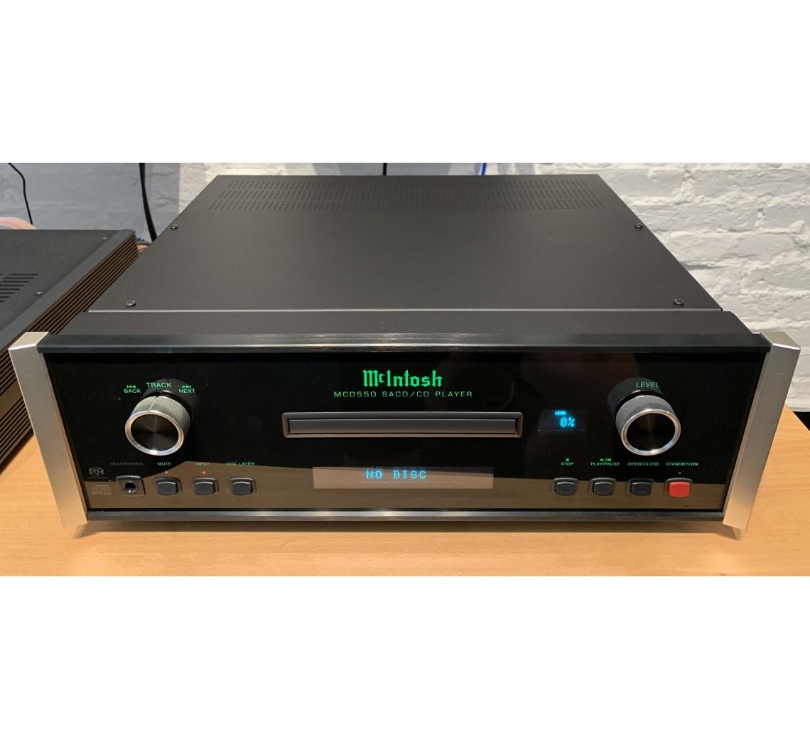 McIntosh MCD550 CD/SACD-afspiller