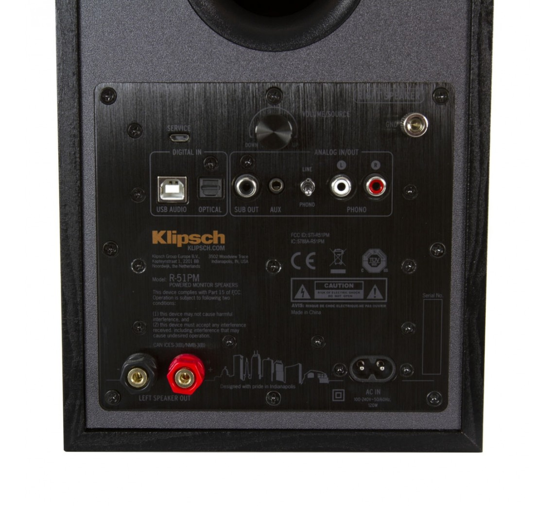 Klipsch Reference R-51PM reolhøjttalere-01