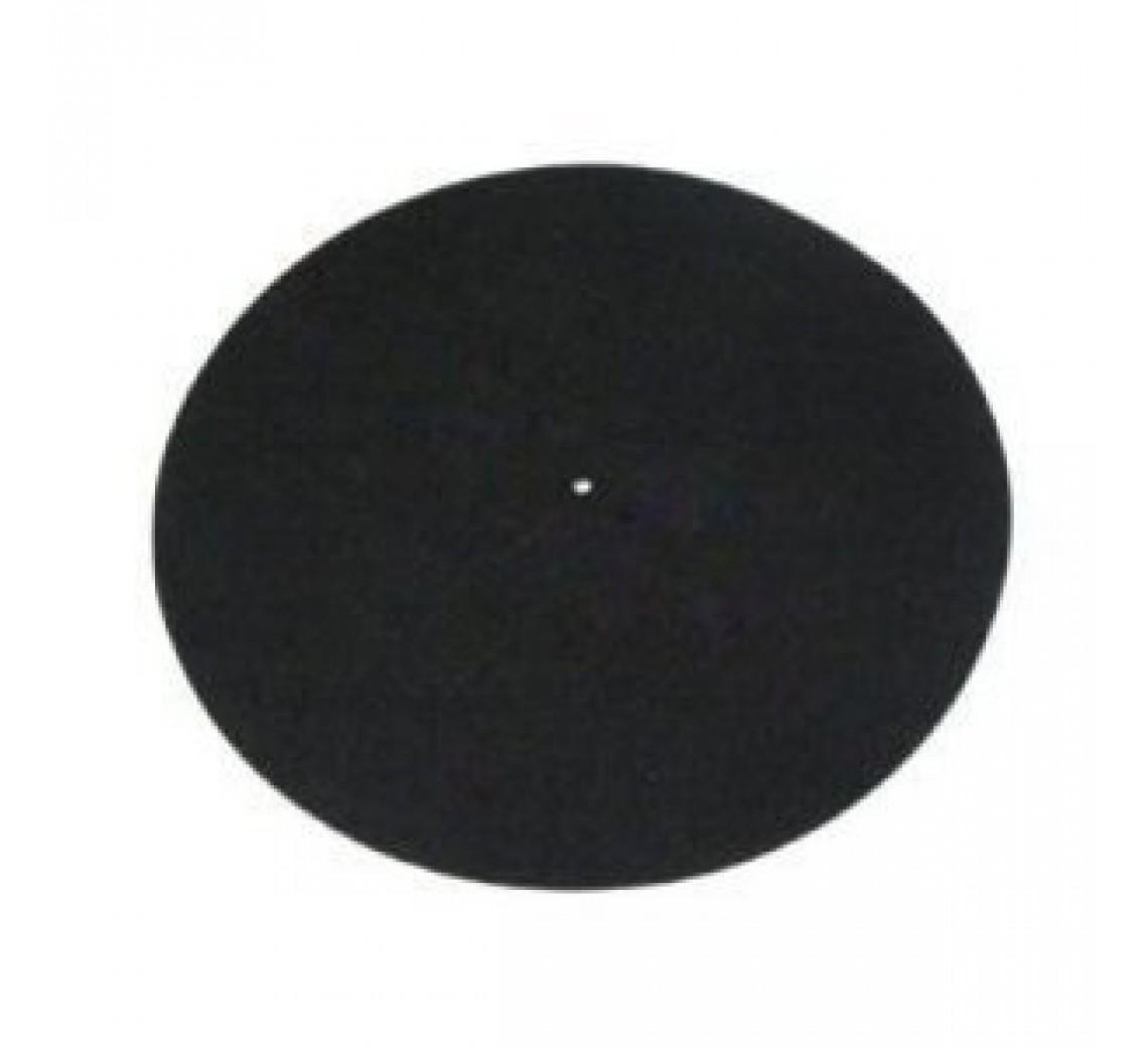 Rega uld-filt plademåtte sort