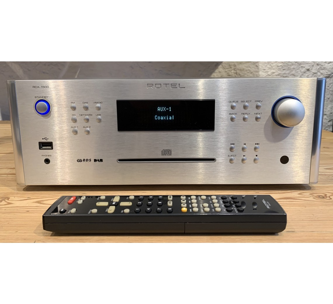 Rotel RCX-1500 forstærker m/cd-afspiller