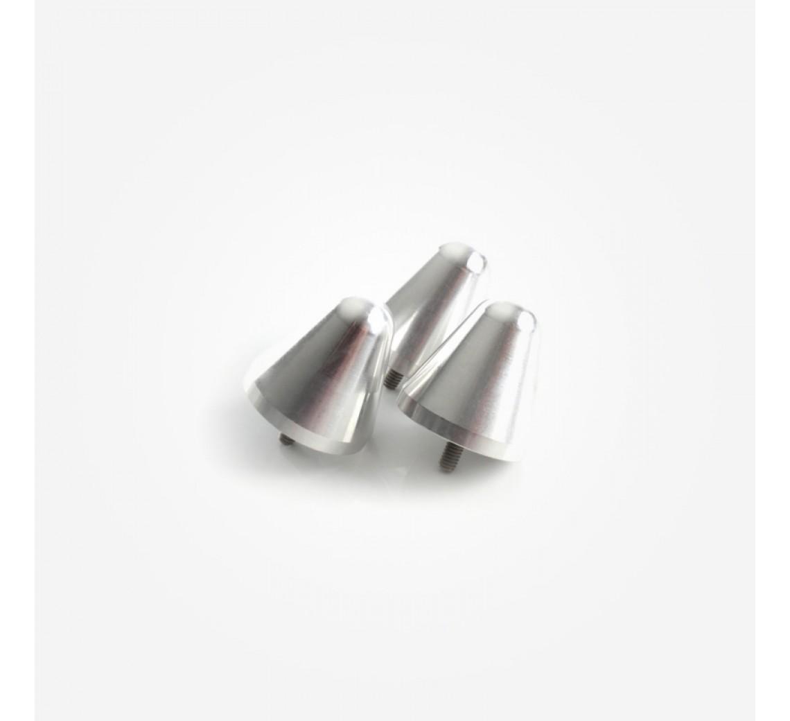 Rega RP10 aluminiumsfødder