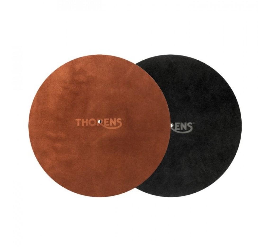 Thorens læder plademåtte