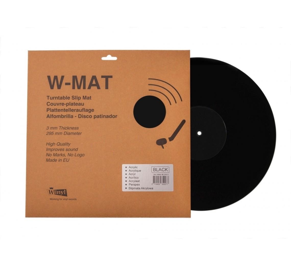 Winyl W-Mat Sort Akryl