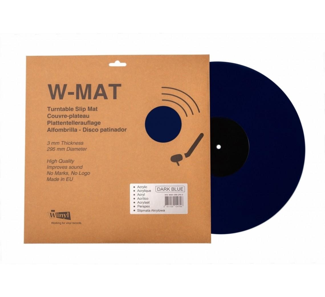 Winyl W-Mat Blå Akryl