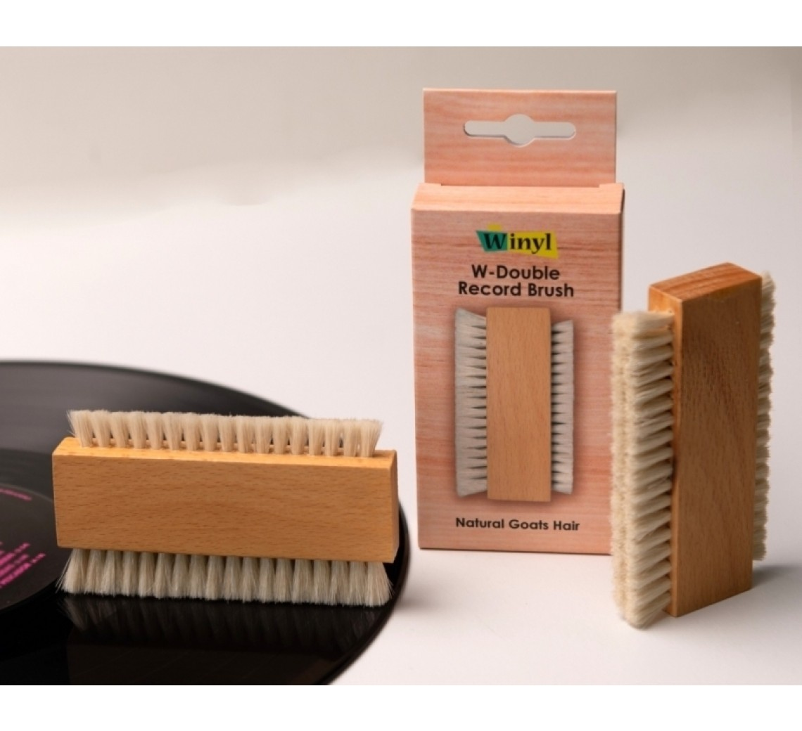 Winyl W-Double Record Brush