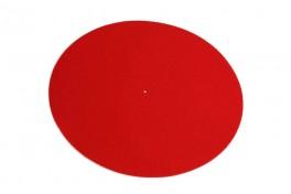 Rega uld-filt plademåtte rød-20