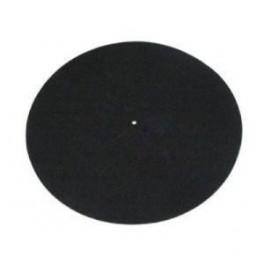 Rega uld-filt plademåtte sort-20